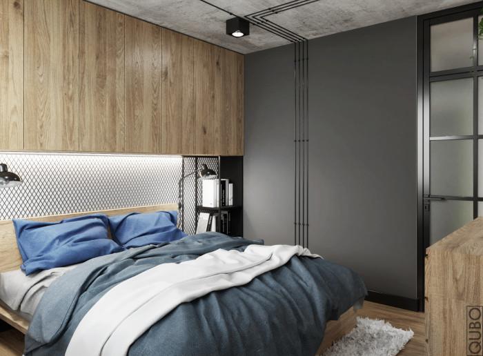 sypialnia beton stal2